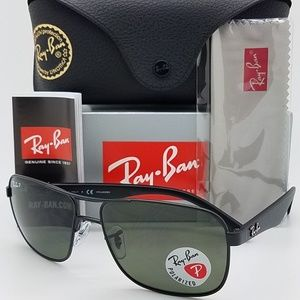 Ray-Ban Accessories - Ray-Ban Sunglasses Black w/Green Classic G-15 Lens